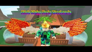 Cách Nhận Code Trong Tree Land Roblox - How to Get Code Tree Land Roblox