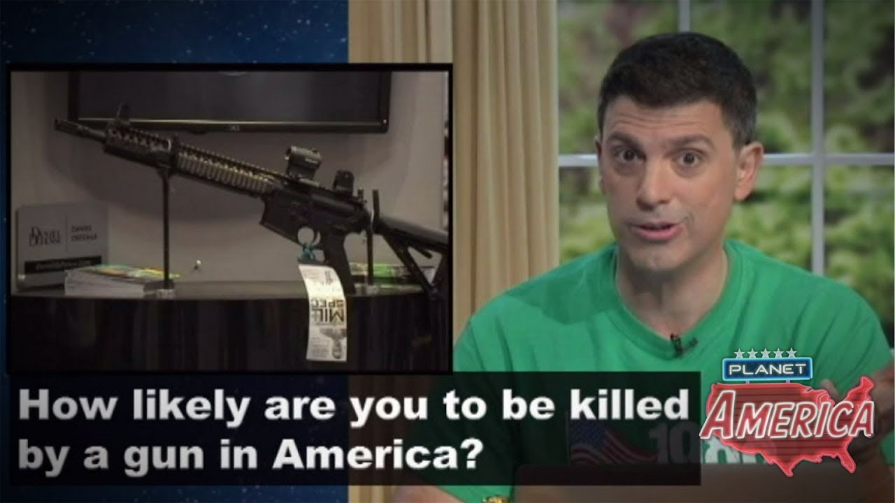 How likely are you to be killed by a gun in America?