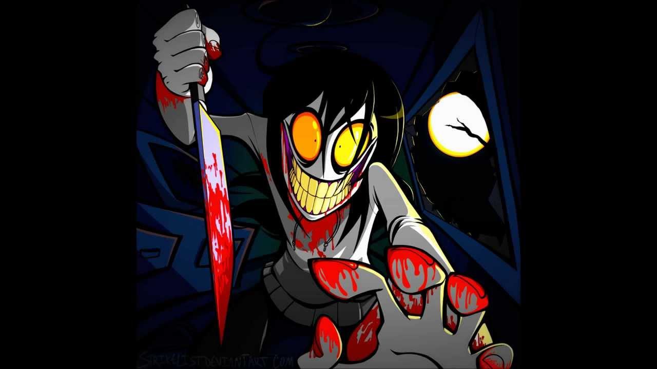 jeff the killer vs eyeless jack - YouTube