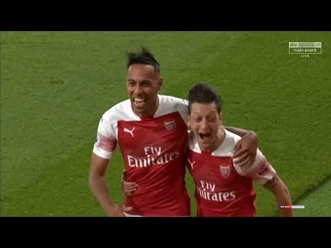 Mesut Özil vs Leicester City (Home) 18-19 HD 1080p