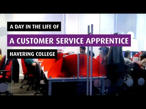 A day in the life of a Customer Service Apprentice