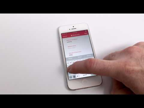 How to Create a Medical ID in Health on iOS