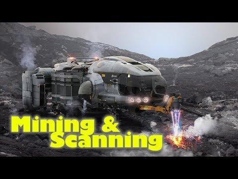 Star Citizen 32 Mining Scanning Gameplay Tutorial