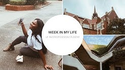 A WEEK IN MY LIFE | UNIVERSITY OF FLORIDA | Interior Design Student