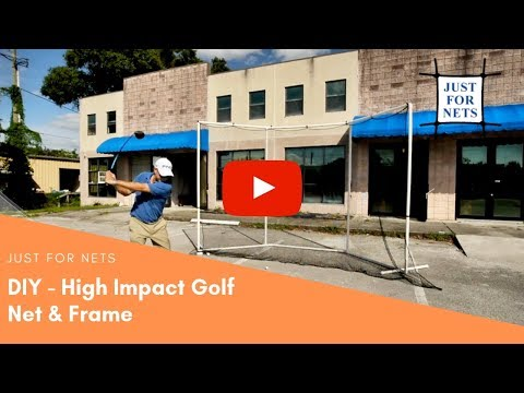 DIY Golf Frame and Net (Assembling the frame in 30 minutes) – Just For Nets