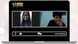 Lớp học tiếng anh giao tiếp trực tuyến ( học 1 thầy 1 trò )