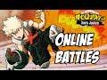 My Hero Academia One's Justice: Bakugou Online Angry Battles