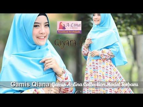 Gamis Alina Collection Terbaru (Gamis Chic 08151855255)