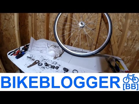 How To Overhaul Coaster Brake Shimano CB E110 Bike Blogger