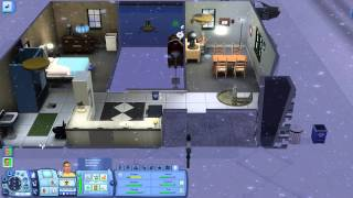 Let's Play The Sims 3 Seasons Part 29 - Chance Of Heavy Snow & No School