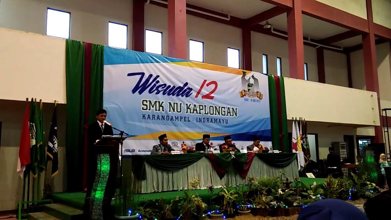 Sambutan Alumni Wisuda Smk Nu Kaplongan Youtube