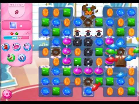 Candy Crush Saga Level 4187 - NO BOOSTERS | SKILLGAMING ✔️