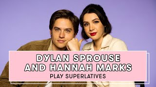 Dylan Sprouse and Hannah Marks Reveal Who Gives the Best Dating Advice and More | Superlatives