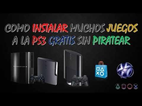 Como Instalar Muchos Juegos A La Ps3 Gratis Sin Piratear Marzo 2017