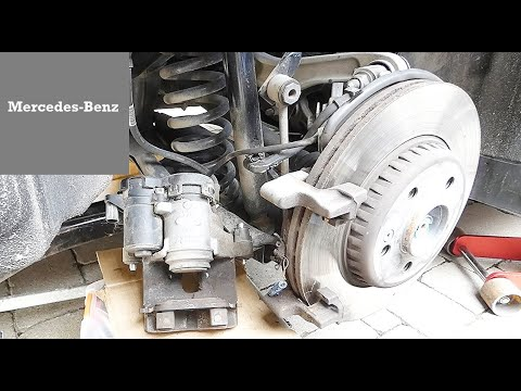How to Replace Rear Brake Pads in Mercedes-Benz C300 W205 and E300 W213