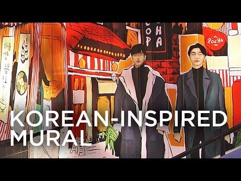 My Biggest Exterior Mural | Korean Restaurant x Neil Torres