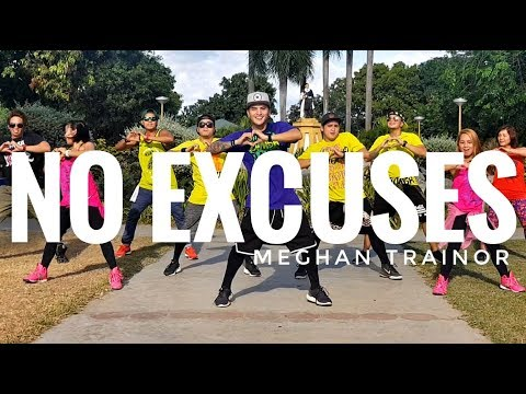 NO EXCUSES by Meghan Trainor | Zumba | Pop | Kramer Pastrana