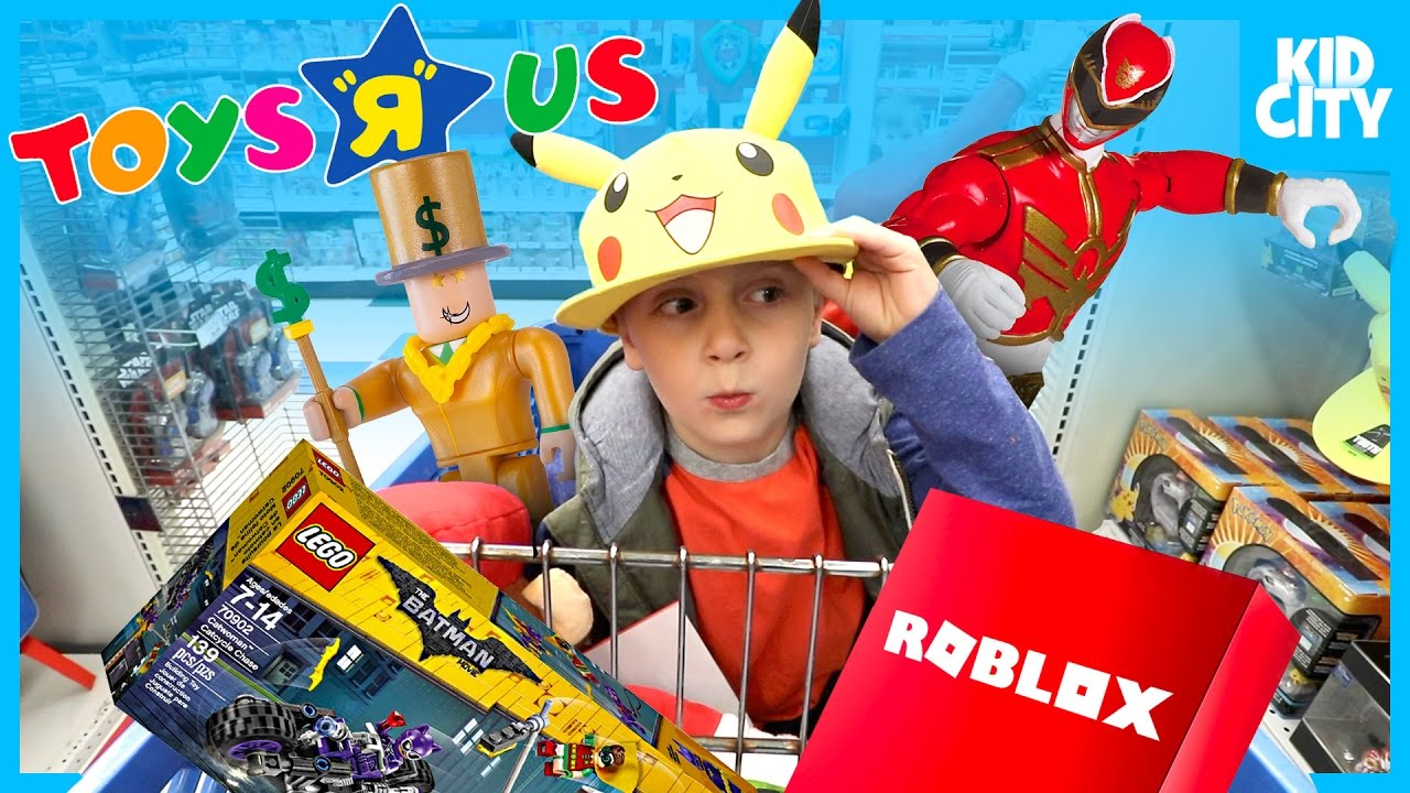 TOYS HUNT At Toys R Us Kids Toy Store! Power Rangers WWE