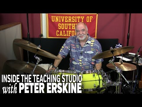 Inside the Teaching Studio with Peter Erskine - USC Thornton School of Music