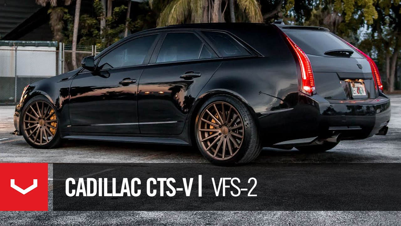 cadillac cts v 850hp wagon vossen vfs 2 youtube. Black Bedroom Furniture Sets. Home Design Ideas