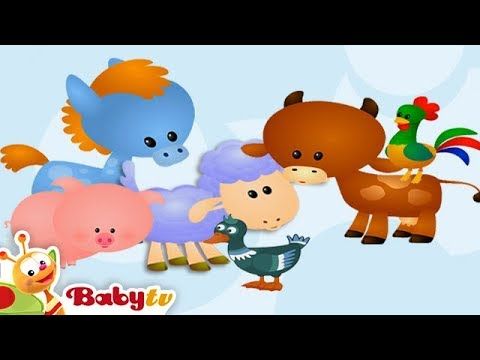 Learning Farm Animal Sounds Amp Names For Kids Amp Toddlers