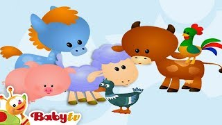 Farm Animal Sounds & Names for Kids & Toddlers | BabyTV