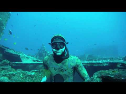 free diving penetration San Pedro ( underwater explorers)