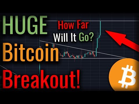 Bitcoin Is Breaking Out Now! Big Moves For Bitcoin!