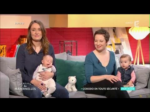 Cododo en toute sécurité avec bébé - La Maison des Maternelles - France 5