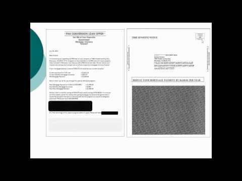 FHA Mortgage Purchase and Refinance Direct Mail Marketing
