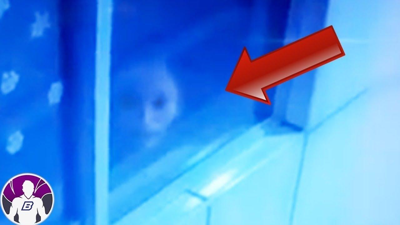 5 Vídeos Aterradores Captados Por Cámaras De Seguridad  Parte 7