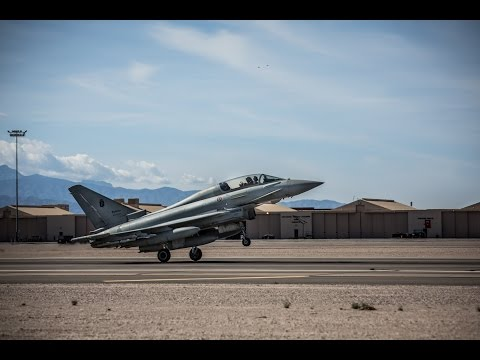 Italian Eurofighter Typhoons At RED FLAG 2016-2, Nellis Air Force Base, Nevada, USA