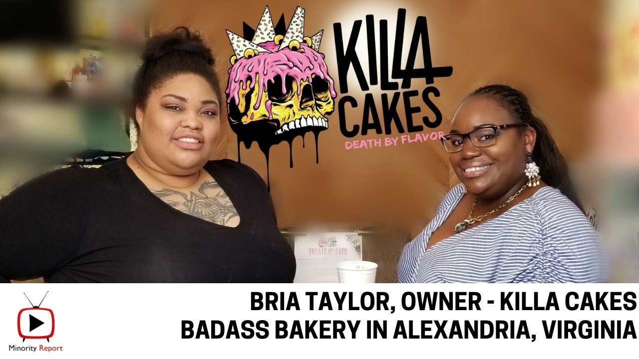 Minority Report | Bria Taylor of Killa Cakes
