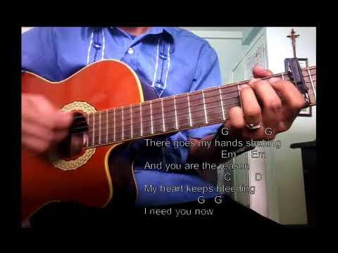 You Are The Reason - Calum Scott - Guitar Cover Strumming
