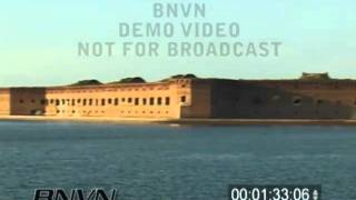 8/4/2001 Dry Tortugas, FL - Fort Jefferson National Park Video