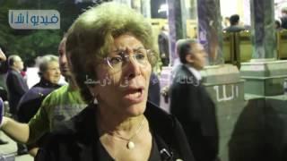 """بالفيديو : فريدة الشوباشى  : اشعر بفداحه الخسارة المصرية لفقدان """" فاروق شوشة """""""
