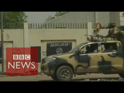 Boko Haram: Rare access to former held towns - BBC News