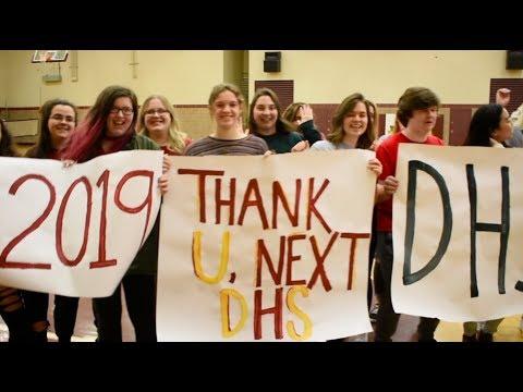 Thank You, Next LIP DUB (Denfeld High School Class of 2019 - Duluth, MN)