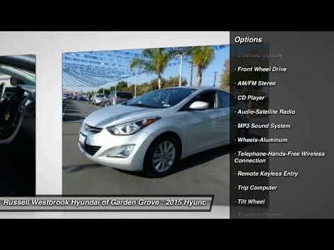 2015 Hyundai Elantra Garden Grove Ca Gp004 Youtube
