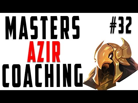 Masters Coaching #32 – Azir Mid (Gold 5)