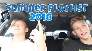 OUR SUMMER MUSIC PLAYLIST 2018