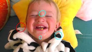 my face and my hands are black + otras Canciones Infantiles con Katya y Dima