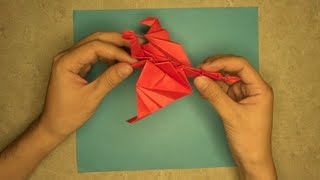 How to make a Flappy Fire Dragon: Mr.Origami, Lesson 6