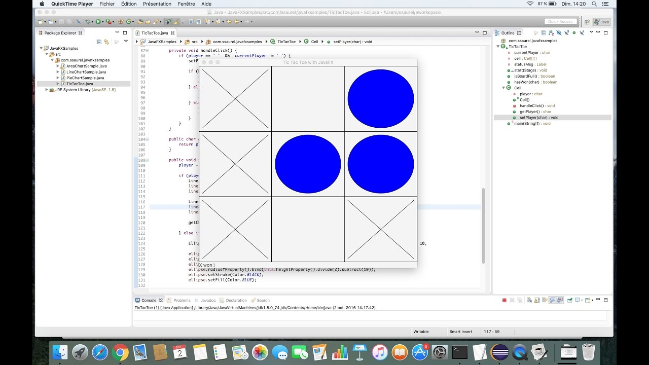 Create a tic tac toe game with javafx youtube create a tic tac toe game with javafx ccuart Choice Image