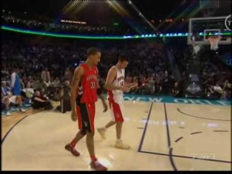 NBA - All Star Game - Slam Dunk Contest ~2008~  parte 2