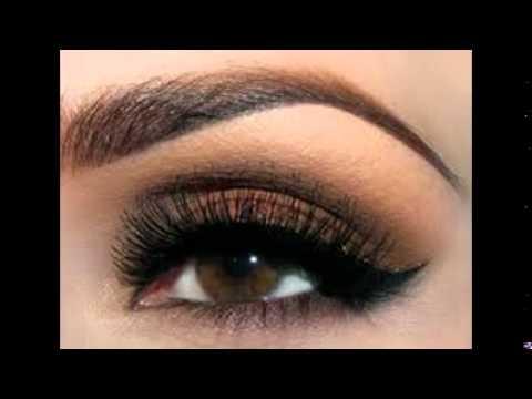 beautiful eye makeup for brown eyes youtube