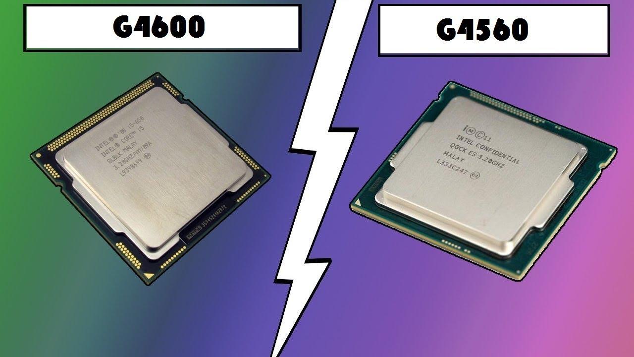 Intel Pentium G4600 VS G4560 (FPS Benchmark)
