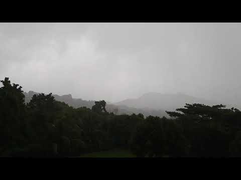 Hurricane Irma Nevis 5pm 5th September 2017