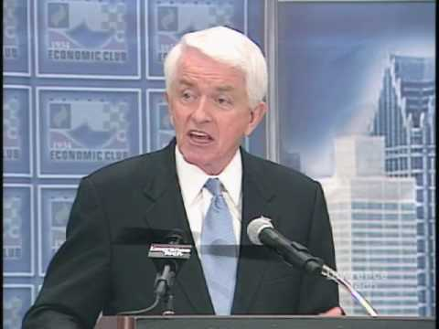 Thomas Donohue, US Chamber of Commerce at the Detroit Economic Club