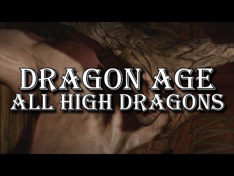 Dragon Age - All High Dragons (Origins, II, Inquisition, all DLC)